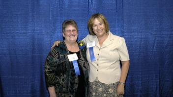 Carol Cooper and Karen Gurley